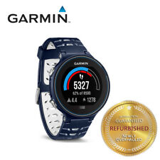Garmin Forerunner 630 GPS Sport Smart Watch ANT+ Touchscreen Running Black Navy