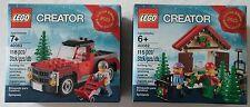 LEGO® Creator 40082 Weihnachtsbaum Verkauf & 40083 Promo Neu & OVP Christmas