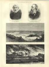 1883 Ivan TOURGUENIEFF TH Farrer Grand incendie Rossau banlieue de Vienne
