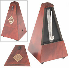 Wittner Traditional Metronome: Mahogany Finished Wood