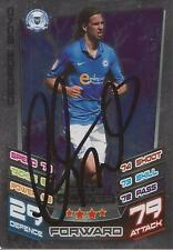 GEORGE BOYD SIGNED PETERBOROUGH 12/13 CHAMPIONSHIP MATCH ATTAX CARD+COA