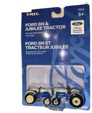 New Ertl 1:64 Ford 8N & Jubilee Tractor Die-Cast Replica Set - Tomy