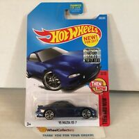 '95 Mazda RX-7 #336 * Blue * 2017 Hot Wheels FACTORY SET * HA18