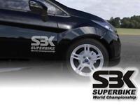 SBK Motorrad Superbike Motorradsticker Aufkleber Klebefolie Vinylfolie Anhänger