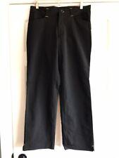 AE8 Cavallino Rahal Letterman Lanigan Black Pants Mens Medium
