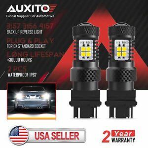 AUXITO 3157 LED Driving Daytime Running Light Bulb FOR GMC Sierra 1500 2001-07