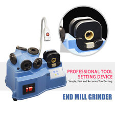 Sfx End Mill Grinder Sharpener 2 12mm Universal Cutting Tool Cutter 7pc Collets
