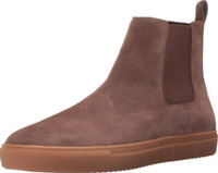 3e3c751a19fb6 size 8 Steve Madden Dalston Brown Suede Hi Top Sneakers Slip On Mens Shoes