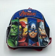 """Marvel Avengers 15"""" Inch Boys School Blue Backpack Bag"""