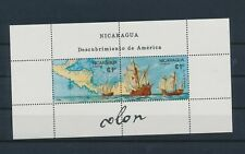 LN74841 Nicaragua discovery of America good sheet MNH
