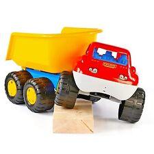 WADER 46116 BigTruck Kipper Sandfahrzeug Strand Kinderspielzeug Lastwagen NEU