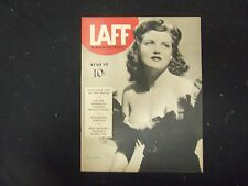 1940 AUGUST LAFF MAGAZINE - NICE COVER, PHOTOS, ARTICLES & ADS - ST 3300