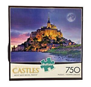 Buffalo Games Majestic Castles Mont Saint Michel, France 750 Pc Puzzle