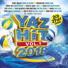 YAZ HIT 2018 -VOL:1  - 2 CD NEU ALBEN
