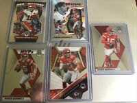 2020 Panini Mosaic Football Patrick Mahomes II UNIQUE 5 card Lot Chief SHARP!!
