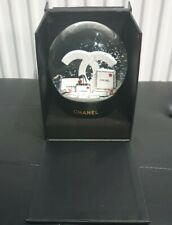 More details for chanel cc snow globe rare -vip - gift