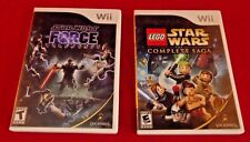 Wii Lego Star Wars Complete Saga & Star Wars The Force Unleashed