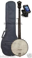 New Recording King RK-OT25-BR Openback Banjo Open Back Old Time Picking Banjos