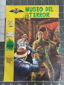 MUSEO DEL TERROR 7 HORROR MUSEUM MEXICAN SPANISH 1966 SCARCE