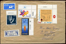 Israel 1973 Registered Cover To Austria #C22445