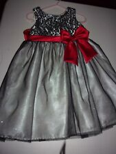 Young Land Girls Dress Fancy Lined Dress Size 4
