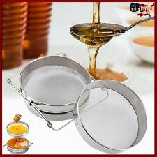 2 Sieve Honey Strainer Stainless Steel Filter Screen Beekeeping Equipment Hot