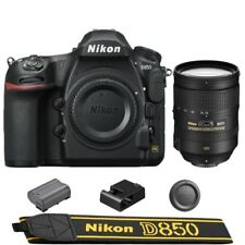Nikon D850 DSLR Camera Body + AF-S NIKKOR 28-300mm f/3.5-5.6G ED VR Lens