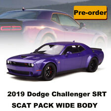 New In Stock GT Spirit 1:18 2019 Dodge Challenger SRT SCAT PACK WIDE BODY Plum
