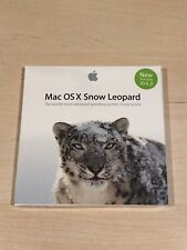 Apple X Snow Leopard 10.6.3 (Retail (License Only)) (1 User/s) - Full Version for Mac MC573Z/A