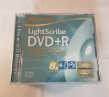 Memorex Lightscribe DVD+R 4.7GB 120 Minute 8x New