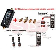 SURECOM SW-33 100-520 Mhz MINI DIGITAL VHF/UHF WATTMETRO  & SWR METER