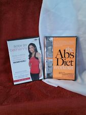 The Abs Diet Workout And Body By Bethany Dvds. Set.