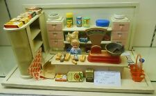 Vintage German Child's Grocery Store Doll House Dollhouse Kaufladen Miniature