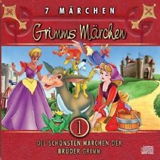 Grimms Märchen - Hörbuch NEU / OVP Audio CD Kinder - 7 Geschichten Brüder Grimm