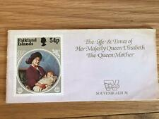 Life & Times Of HM Queen Elizabeth The Queen Mother Souvenir Album & 20 Stamps