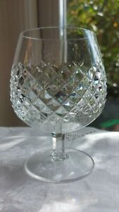 Waterford Crystal Alana Brandy Glass, signed