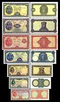 Irlanda  2x 10 Sh,1,5,10,20,50,100  - Pounds Edición 1945 - 1960 Reproducción 04