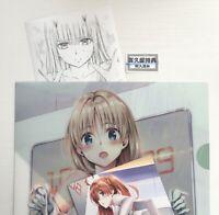 DARLING IN THE FRANXX vol 6 bonus zero two miku kokoro yabuki art 3 set japan