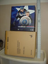 """Empty Box for Hot Toys 12"""" Captain America & Steve Rogers Free US Shipping"""