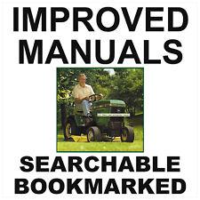 John Deere 317 Tractor SERVICE Manual & PARTS Catalog & OPERATOR -3- MANUALS CD