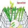 3PCS 0.5mm Color Random Ink Kaktus-Gel-Stift Blumen Pflanzen Design Kunststoff