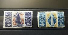 1948: Italia Repubblica - Santa Caterina serie Posta Aerea . Gomma Integra