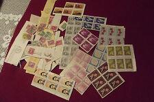 Dealer Lot Of Vintage Canadian Postage Stamps