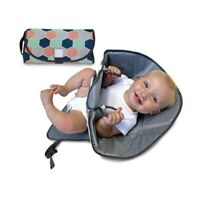 3-in-1 Baby Waterproof Diaper Home Travel Changing Mat Pad Organizer Bag