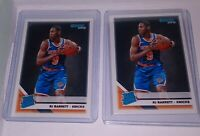 (2) RJ BARRETT 2019-20 Panini Donruss Basketball Rated Rookie NY Knicks MINT
