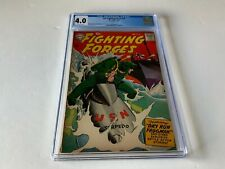 OUR FIGHTING FORCES 30 CGC 4.0 USN SCUBA FROGMAN TORPEDO SUB DC COMICS 1958