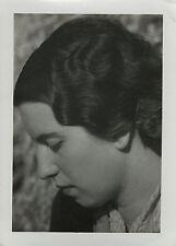 PHOTO ANCIENNE - VINTAGE SNAPSHOT - FEMME COIFFURE MODE - WOMAN FASHION HAIR 5