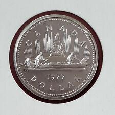 1977 DJ FWL Canada Specimen Nickel Dollar