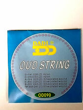6 course oud string set 11 silver plated wound strings 5 pairs+6th string عود