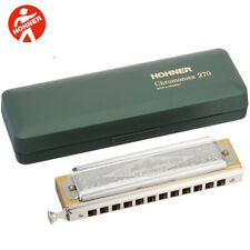 Hohner 270BX-D Super Chromonica Professional Chromatic Harmonica D with Case